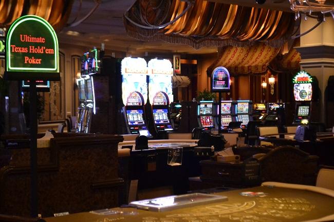 Gastar nos cassinos é um dos programas em Las Vegas