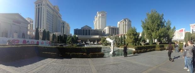 Caesars Palace é um dos hotéis mais famosos de Vegas