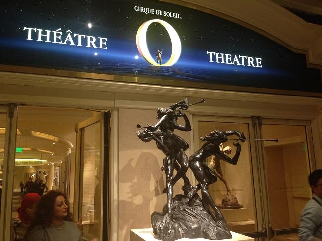 """""""O"""", Cirque de Soleil dentro do Bellagio"""