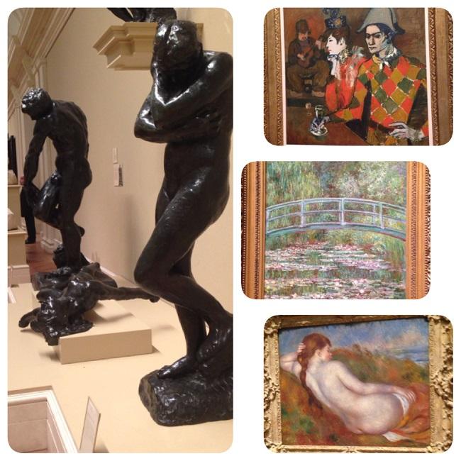 Pinturas e esculturas no MET