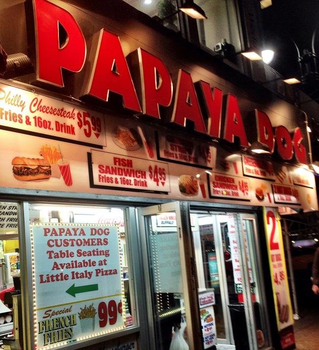Papaya Dog é bem gostoso, apesar de não ser o original