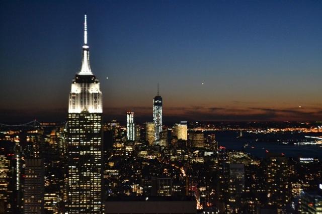 Cidade é muito bonita à noite