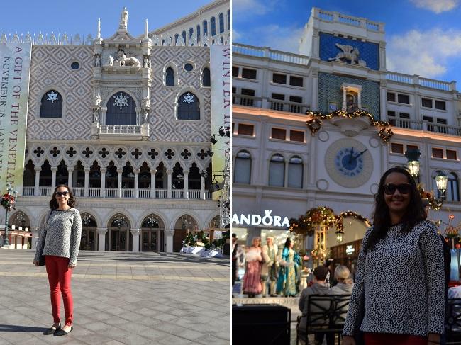 Line adorou o Venetian