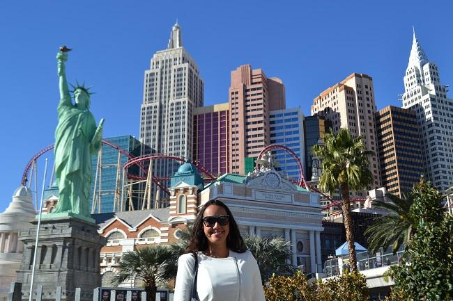 Nova Iorque. Só que em Las Vegas