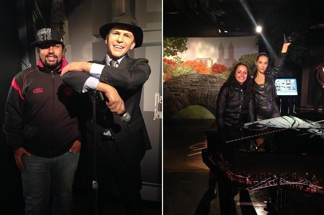 Sinatra e Alicia na parte de NY