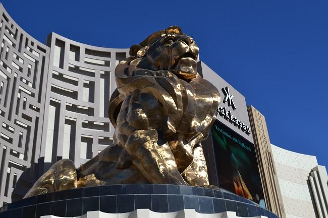 O belo leão do MGM
