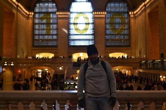A bela parte interna da Grand Central