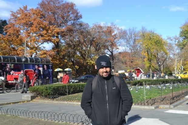 Quinta Avenida chegando ao Central Park