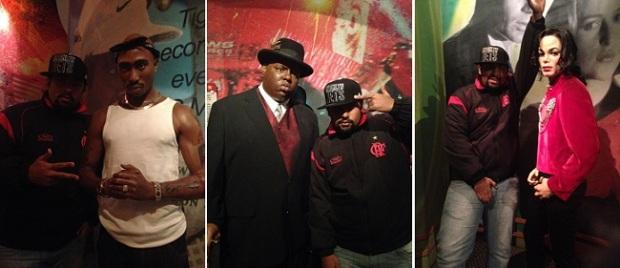 Pac, Biggie e MJ... Lendas!