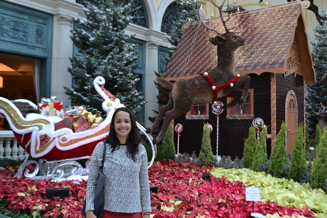 Os bonitos jardins do Bellagio