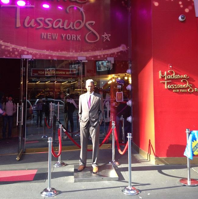 Madame Tussauds em NYC