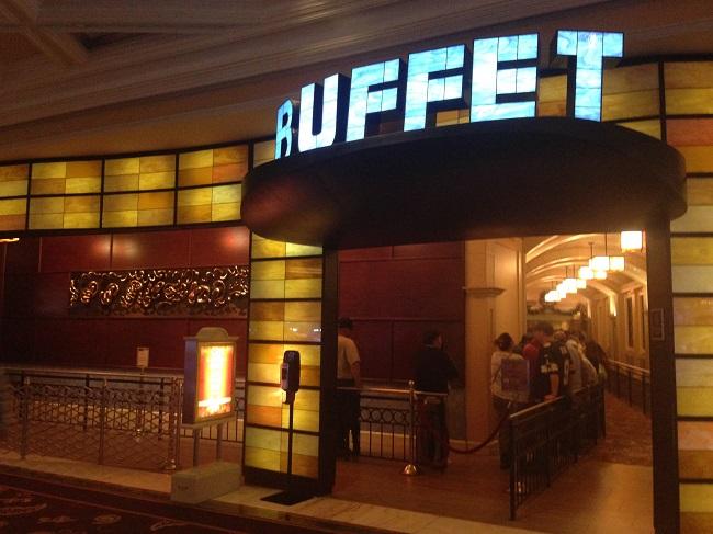 Buffet, mais conhecido como Paraíso