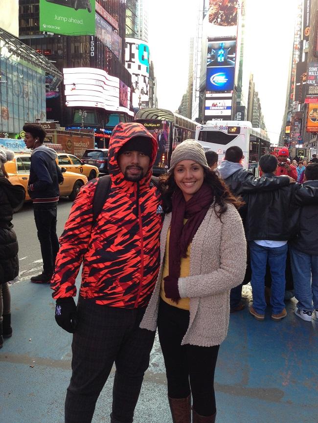 Times Square, pra variar