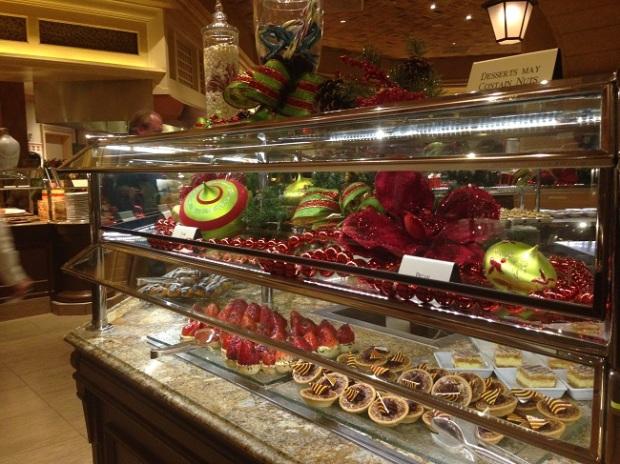 Bellagio tem um buffet espetacular