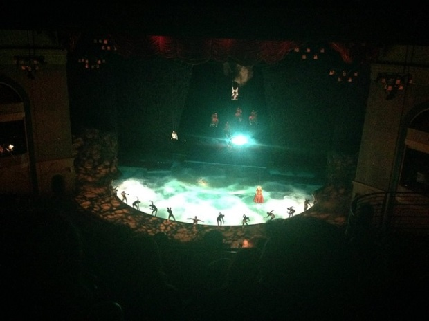 Cirque du Soleil é animal no Bellagio