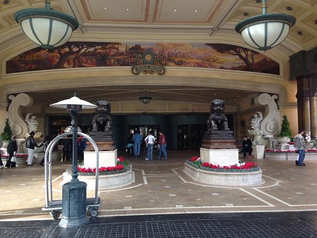 Entrada principal do Bellagio