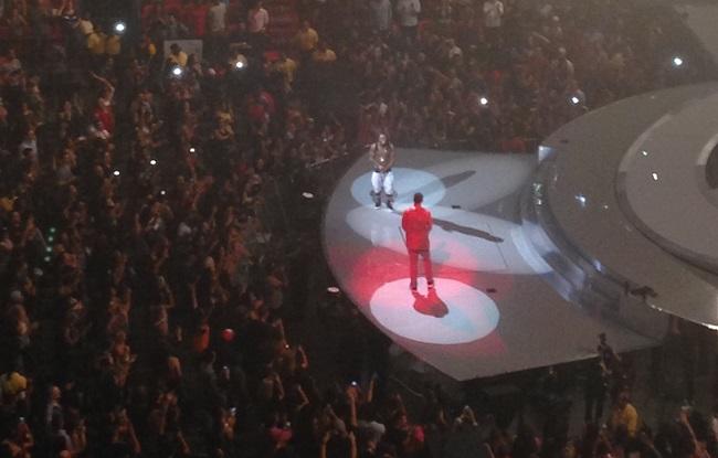 Drake e Lil Wayne na AAA