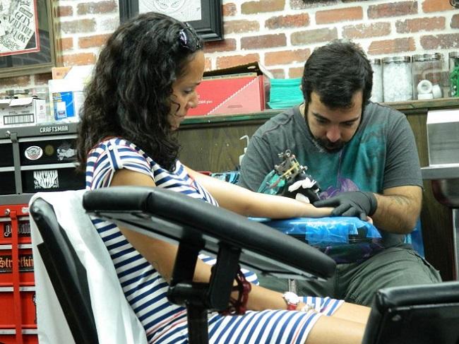 Miami Ink é famoso e caro