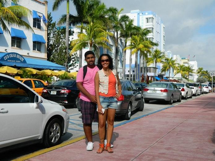 Miami tem sol até no inverno