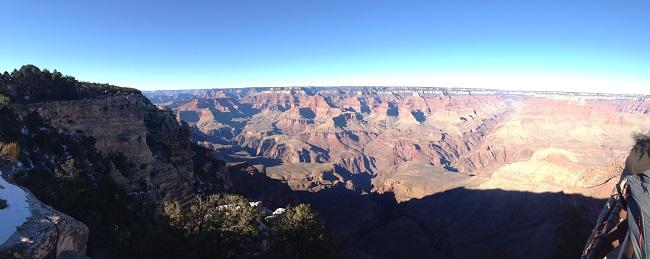 Grand Canyon é imenso e muito bonito