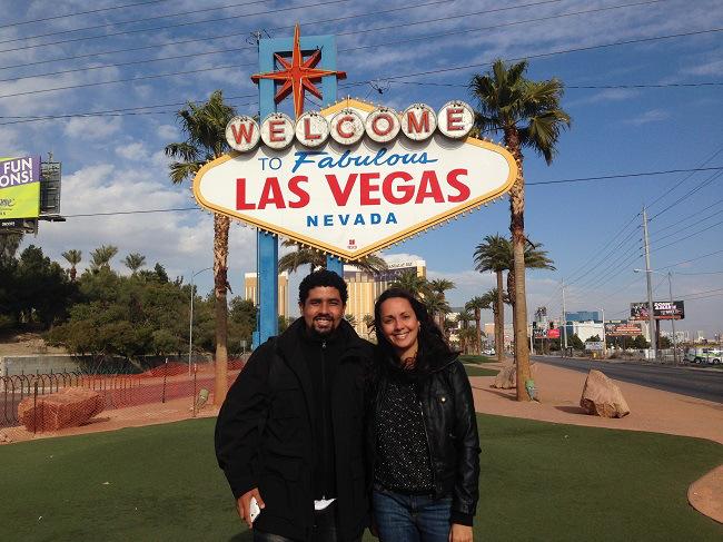 Vegas foi a viagem de dezembro
