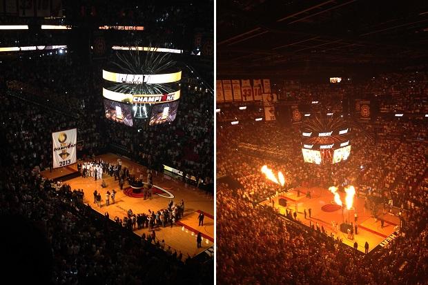 Jogos do Heat são incríveis