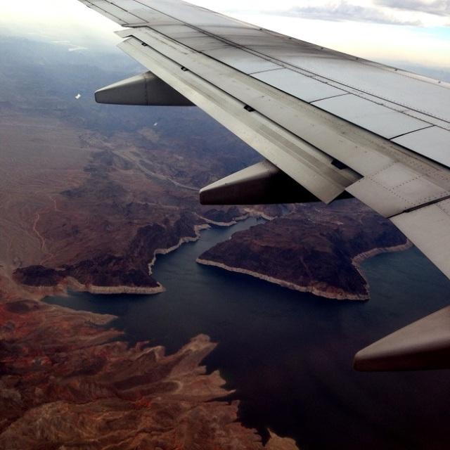 Paisagem da região vista do alto