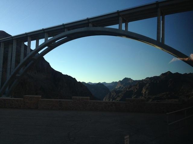 Ponte próxima à Hoover Dam