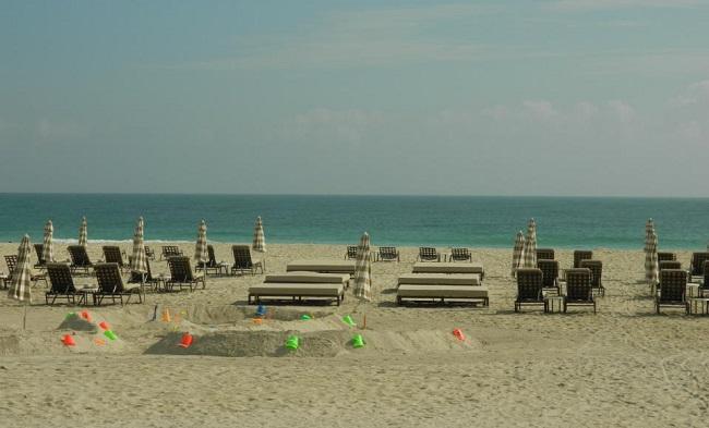 A bela paisagem de Miami Beach