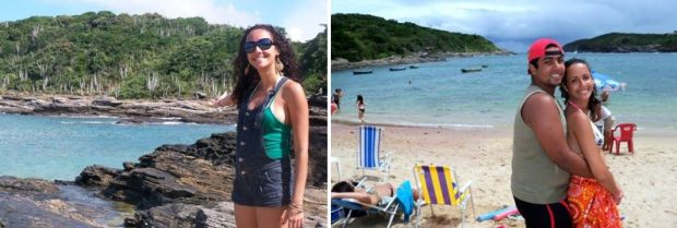 Praia do Forno é excelente para relaxa