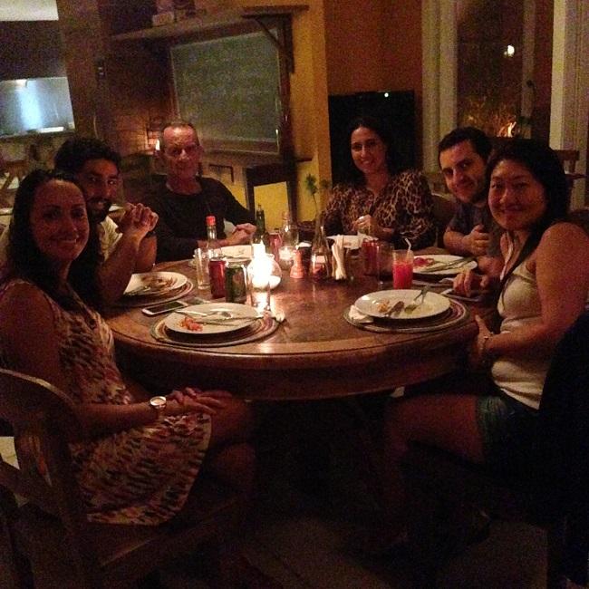Rodízio de pizza com os amigos da GVBB