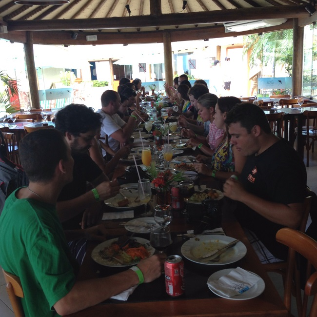 Almoço do GVBB no La Plage