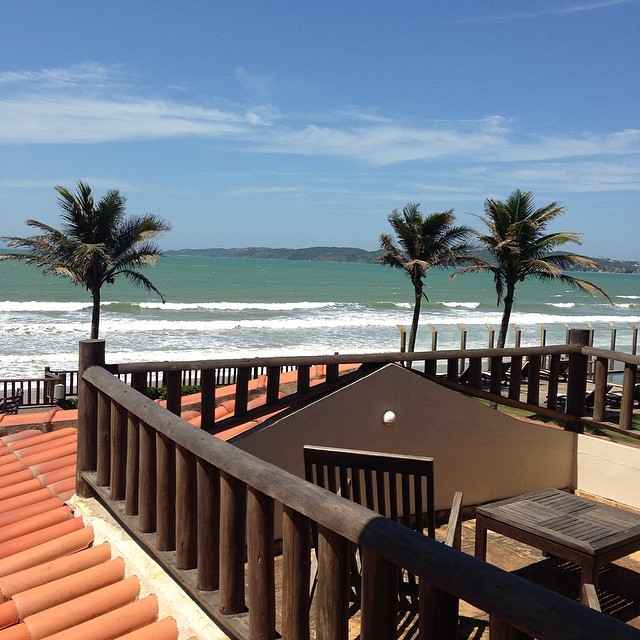 Praia Rasa vista do Marina Villa Rasa