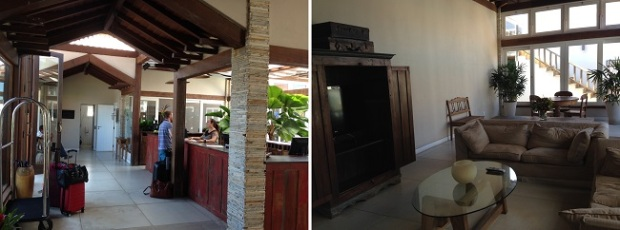 Recepção - Hotel Villa Rasa Marina Búzios
