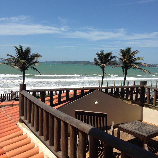 Vista de frente para o mar - Hotel Villa Rasa Marina