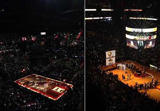Miami Heat: ginásio tem ótima visão de qualquer lugar