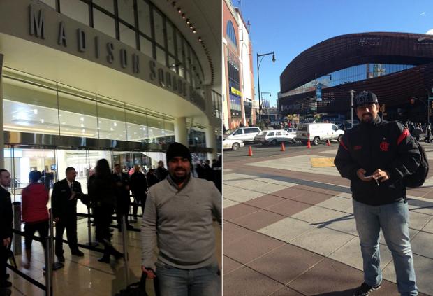 Madison Square Garden e Barclays Center: ginásios têm metrôs na porta