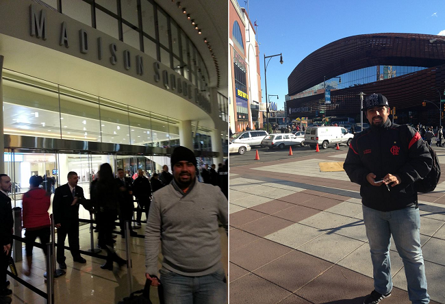 Madison Square Garden e Barclays Center: ginásios têm metrôs na porta