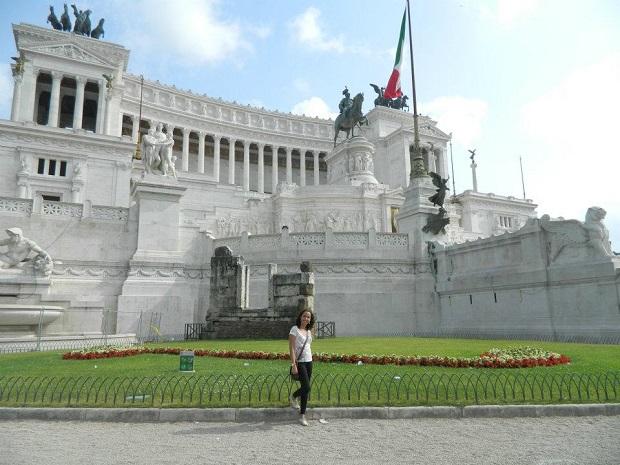 Monumento a Vitorio Emanuele é incrível