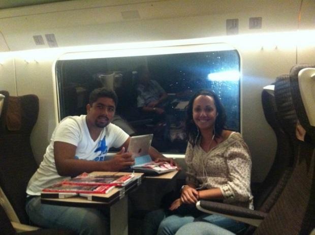 Viaje de trem: é muito bom