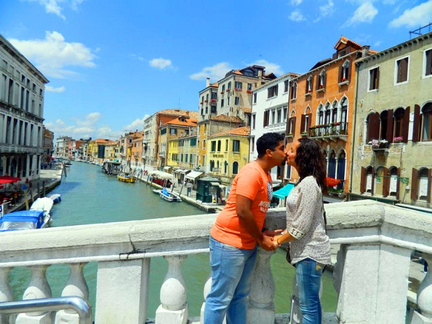 Veneza: pegamos um tempo bom