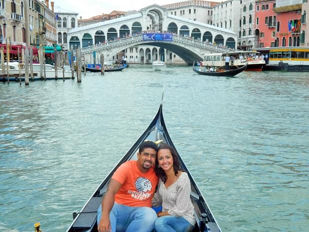 Veneza: ande de gôndola sim!