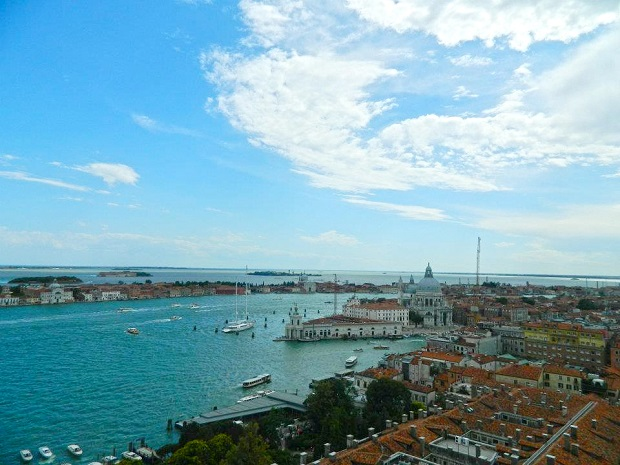 Veneza: que vista do alto
