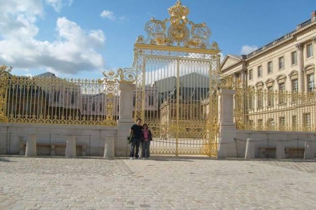 Fernando e Fernanda em Versailles