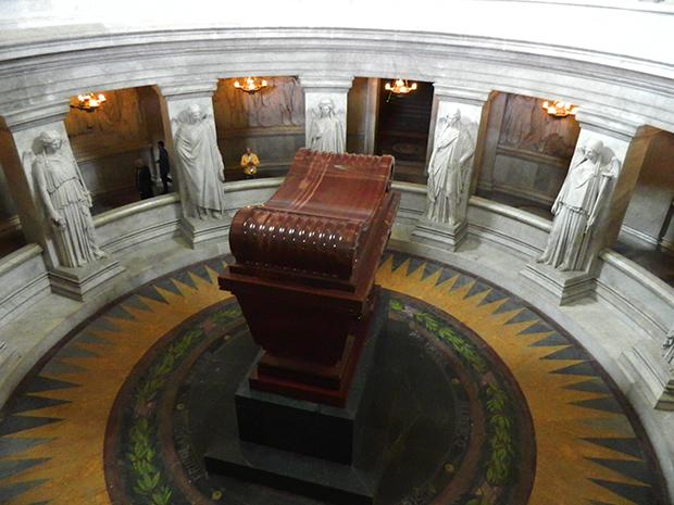 Museu das Artes tem a tumba de Napoleão