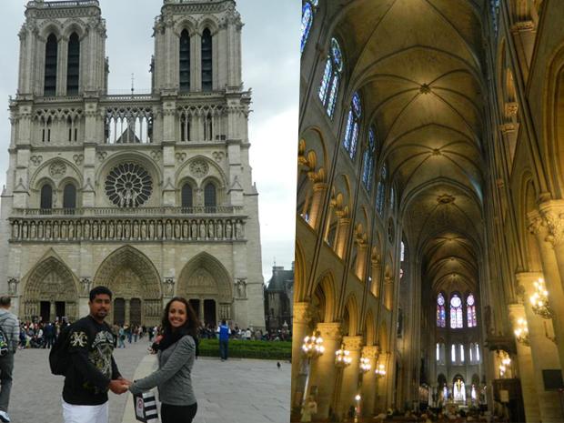 Notre Dame é famosa pelo estilo gótico