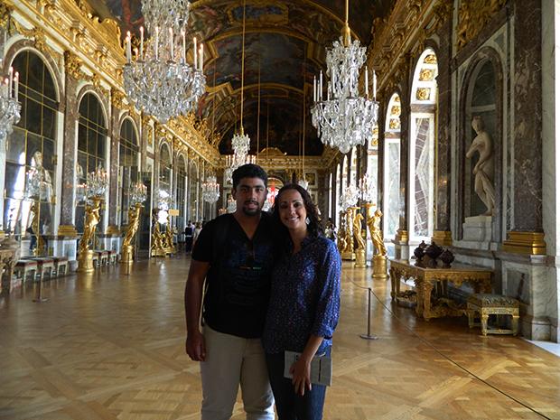 Palácio de Versalhes é impressionante