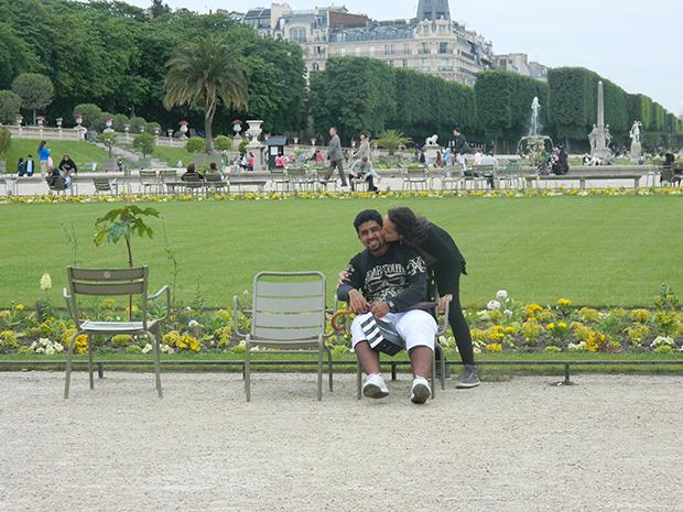 Jardins de Paris são ótimos para relaxar