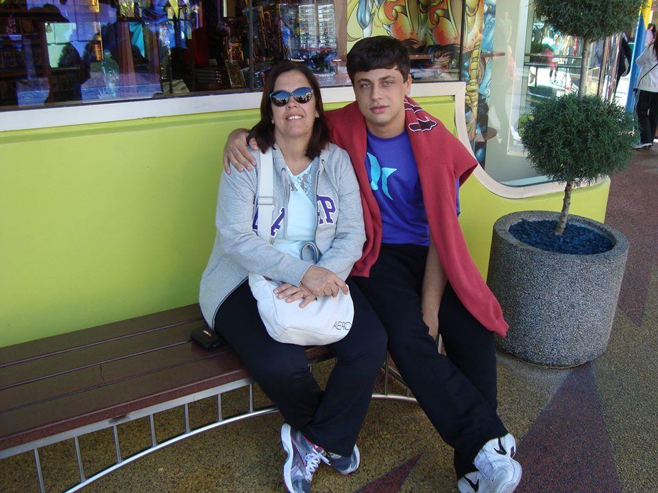 Família Rezende em Orlando: Nely e Rafael