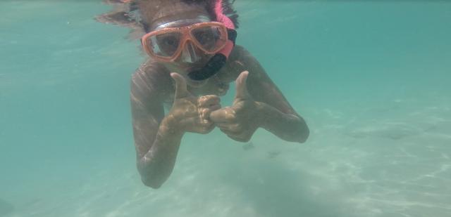 Boca Catalina snorkel Aruba